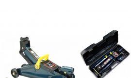 Домкрат подкатной гидравлический 2 т (h min 135мм, h max 320мм,вес 6,7 кг) в кейсе