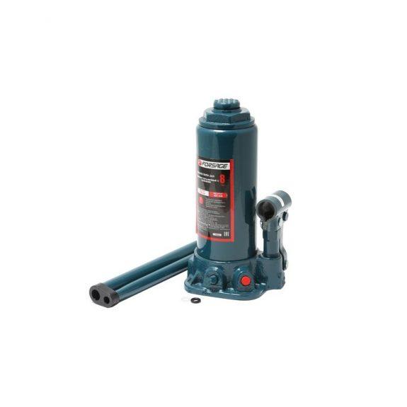 Домкрат бутылочный 8 т с клапаном (h min 230мм, h max 457мм)