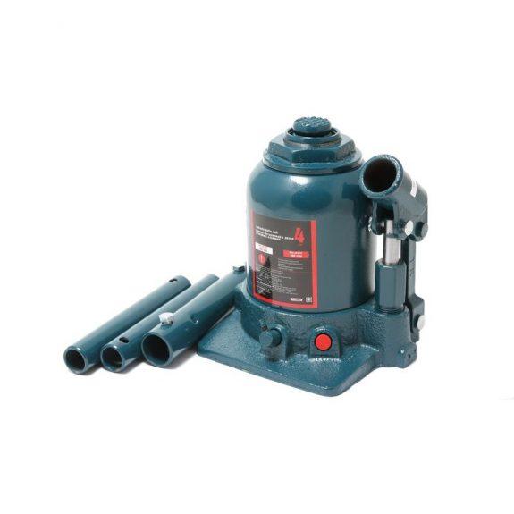 Домкрат бутылочный двухштоковый с клапаном 4т (h min — 160мм, h max — 390мм, ход штока — 170мм)
