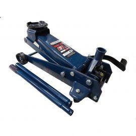 Домкрат подкатной гидравлический с механизмом быстрого подъема 3т+резиновая накладка(h min 135мм, h max 505мм)
