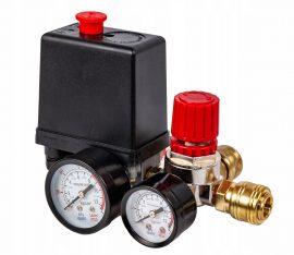Реле давления c манометром к компрессору серии BM
