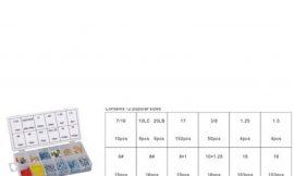 Крепежный набор: кнопки гвозди, винты, дюбели, крюки, кольца. 600пр.