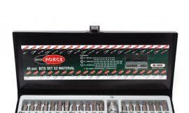 Набор бит с битодержателями, 40пр. (10мм)(75/30мм: T20-T55,H4-H12,M5-M12) в металлическом кейсе