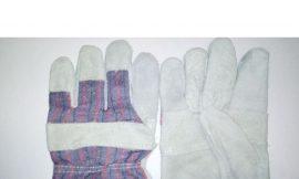 Перчатки защитные из натуральной кожи с марк.»KPS safety»артикул LR 560