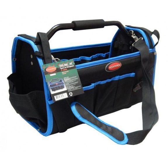 Сумка для инструментов открытого типа (500х250х320мм, 31 карман, каркас из легких металлов и ручка с паралоновой накладкой+ремень»через плечо»)