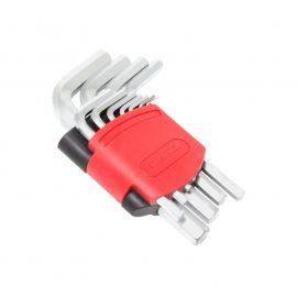 Набор ключей Г-образных 6-гранных, 11пр.(1.5, 2, 2.5, 3, 4, 5, 6, 7, 8, 10, 12мм)в пластиковом держателе