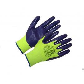 Перчатки нейлон 13 класс с белым полиуретановым покрытием ( р. 9 ( L )) PU1001 White.(12 шт)
