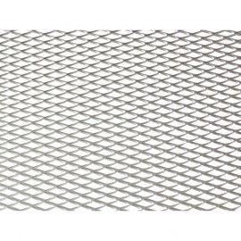 Сетка декоративная 100*25см серебро