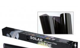 Пленка тонировочная 0.75×3м 10% »Solar Shade»Black Dark уп-4 шт