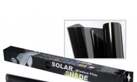 Пленка тонировочная 0.75×3м 20% »Solar Shade»Black уп-4 шт