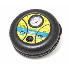 Компрессор автомобильный PA-009 »PARTNER»(18л/мин, 8А) »колесо»12V