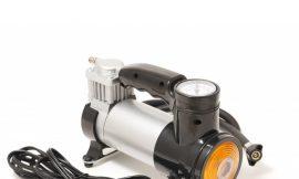 Компрессор поршневой автомобильный с фонарем F-581 »FORSAGE»(35л/мин, 15А) 12V