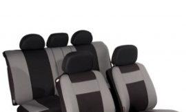 Чехлы унив. SENATOR Жаккард Arizona (серый), размер M, сверхпрочный жаккард+полиэстер, 11 пр., карман, 6 молний