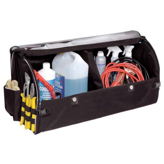 Органайзер AO-1411 BLACK в багажник складной (66х29.5х33см)