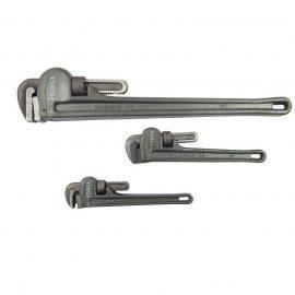 Ключ трубный с алюминиевой рукояткой 12»,max Ø захвата 50мм