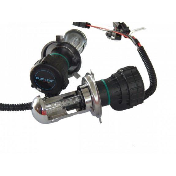 Лампа БИ-ксеноновая H4-H/L 6000K D/C 12v35w »BLUE LIGHT»(2 шт) 38166