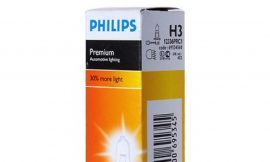 Автолампа H3 (55)+30% PK22s PREMIUM 12V