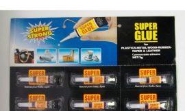Супер-клей 3гр 12шт/лист (Super Strong)