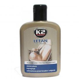 Очиститель+полироль для натуральной кожи Letan 200 мл.