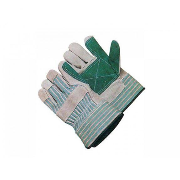 Перчатки »ДОККЕР»спилковые усиленные комб.