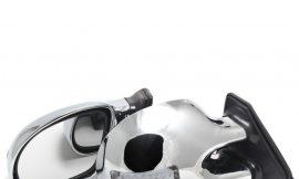Зеркало внешнее/3252C хром с поворотами