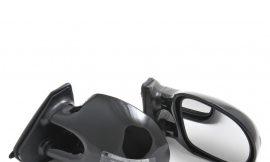 Зеркало внешнее/3252C черное с поворотами