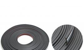 Наклейка-молдинг 22109-30 Black/Chrome (30м)