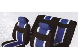 Чехлы на сидение 6пр BY-1304003B Black/blue