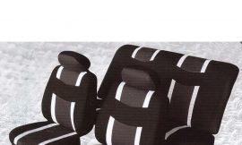 Чехлы на сидение 6пр BY-1304003G Black/grey