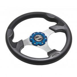 Руль спортивный JY9027L (black/carbon)