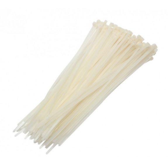Хомут пластмас WHITE 6х400 (100шт)