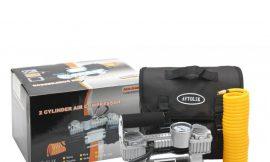 Компрессор FY-002D 12V с сумкой 2цилиндра, 20А, 70л/мин