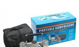 Компрессор FY-003B 12V с сумкой 2цилиндра, 45А, 150л/мин