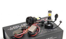 Лампы светодиодные CREE H4 42W (2шт с блоками)