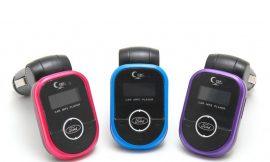 Автомобильный FM-модулятор BT23 (12V-24V, BT Hf+USB 3,1A)