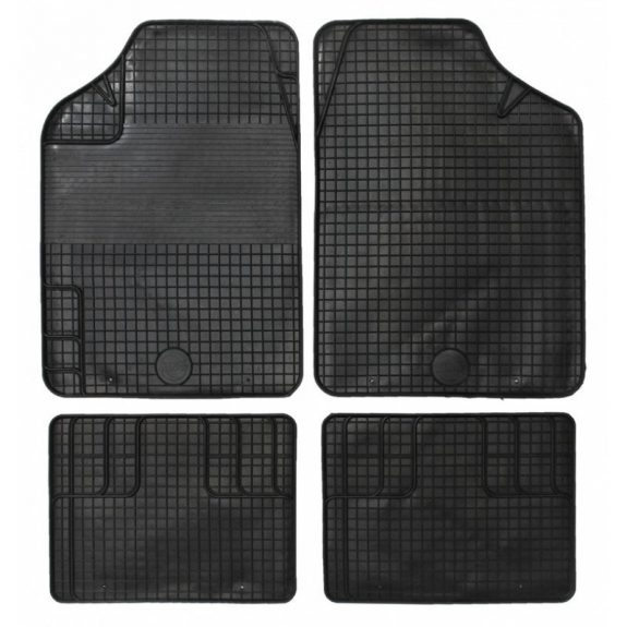 Ковры резиновые King-2 Black (4шт)