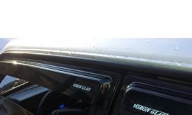 Ветровик (000496) Kia Cerato II 2009-2013/седан/накладные/скотч/к-т 4шт./