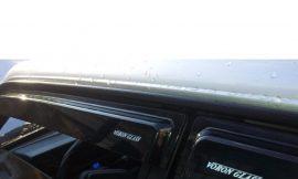 Ветровик (000537) Volkswagen Polo V 2009-н.в./хетчбек/накладные/скотч/к-т 4шт./