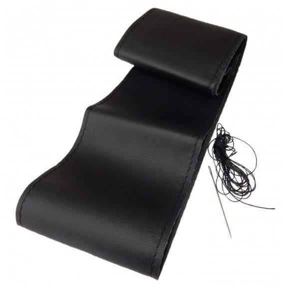 Чехол руля кожа leather black-M