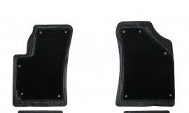 Ковры резиновые TS2216P Black (3шт) (0205)