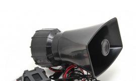 Сигнал 3 звука SMD-350 12V 50W с микрофоном