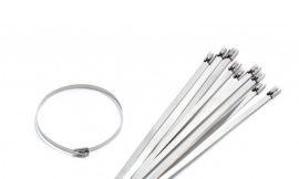 Хомут-стяжка железный 4.6ммx600мм SILVER (10шт)