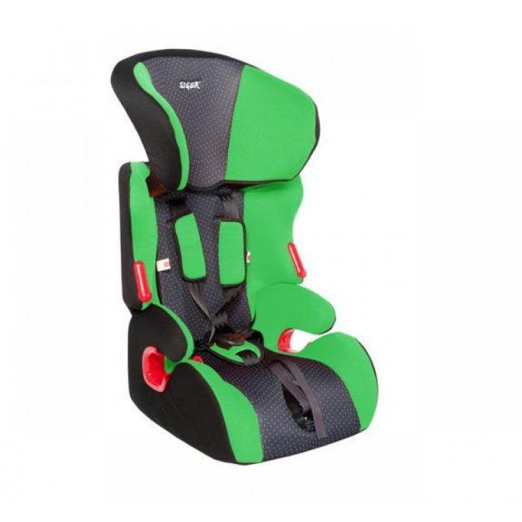 Детское автокресло SIGER »КОСМО»(зеленый) группа I,II,III