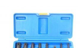Набор головок-бит TORX ударных 8пр. 1/2»(T30, Т40, Т45, Т50, Т55, Т60, Т70, 80), в кейсе