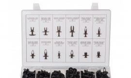 Набор пистонов нажимных универсальных 240пр., пластиковом органайзере
