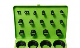 Кольца уплотнительные резиновые маслобензостойкие, 500пр.