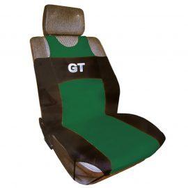 Чехлы на сиденье R-314 GREEN »GT»передние с сеткой (майка) (2шт) FORMA