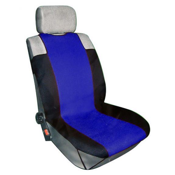 Чехлы на сиденье R-318 DARK BLUE »3D»передние с сеткой (майка) (2шт) FORMA
