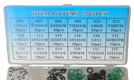 Комплект резиновых колец 265пр-Цветные JL-002