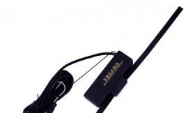 Антенна TR-10 SUPER активная на стекло 36см (всеволновая с регулировкой, радиус приема 80км) кабель 250см 12V ТРИАДА